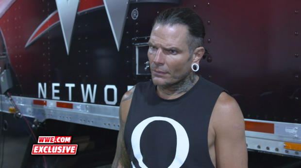 A focused Jeff Hardy vows to recapture the United States Title: WWE.com Exclusive, Aug. 19, 2018