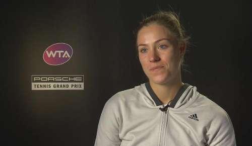 Kerber Interview: WTA Stuttgart 2R