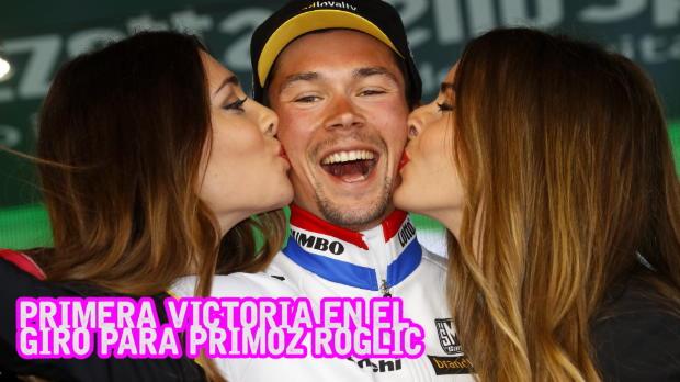 Giro de Italia - Primoz Roglic gana la crono