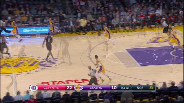 WSC: Highlights: Chris Paul (27 points) vs. the Lakers, 3/21/2017