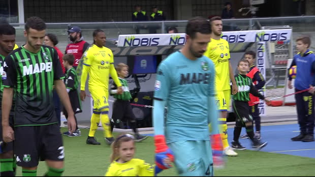 Serie A: Chievo Verona - Sassuolo   DAZN Highlights