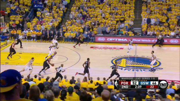 WSC: Damian Lillard with 6 3-pointers against the Warriors
