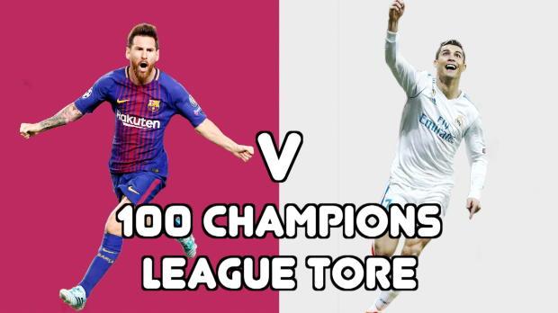 Messi vs. Ronaldo: Rekordjagd der Giganten