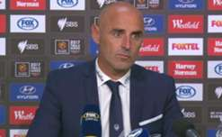 Victory boss Kevin Muscat said his side's intensity was 'frightening' in their 1-0 semi final win over Brisbane Roar.