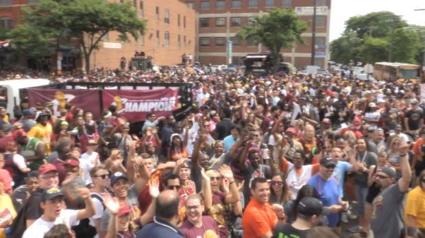 LeBron und Co. sind zurück: Cleveland feiert