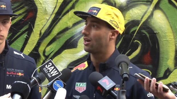 """F1: Ricciardo: Mehr Spannung """"wäre cool"""""""