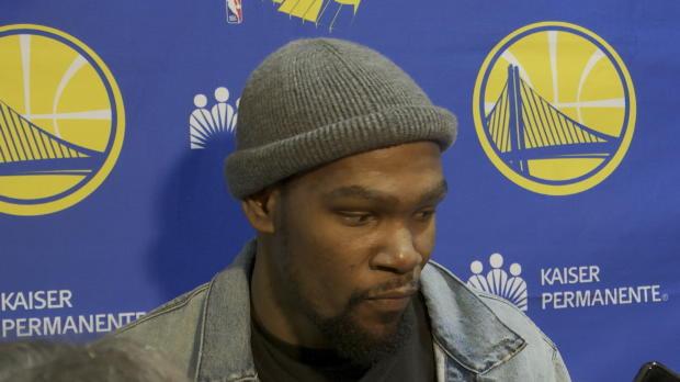 """Basket : Warriors - Durant - """"Une victoire qui fait du bien"""""""