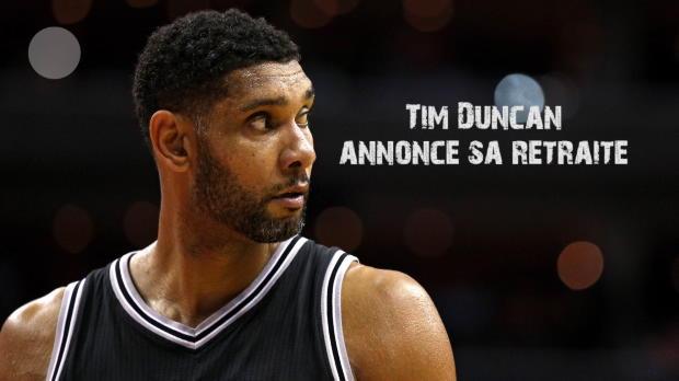 Basket : NBA - Spurs - Tim Duncan annonce sa retraite
