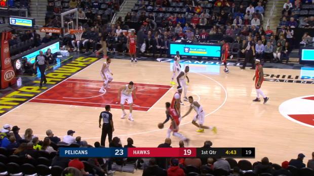 GAME RECAP: Hawks 94, Pelicans 93