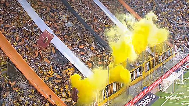 Gänsehaut-Stimmung pur! | Dynamo-Fans feiern Liga-Auftakt