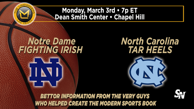 Notre Dame @ North Carolina
