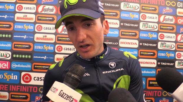 Giro - Izaguirre, contento tras su victoria de etapa