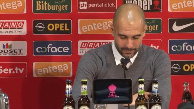 "Guardiola : ""Le Bayern a eu de la chance"""