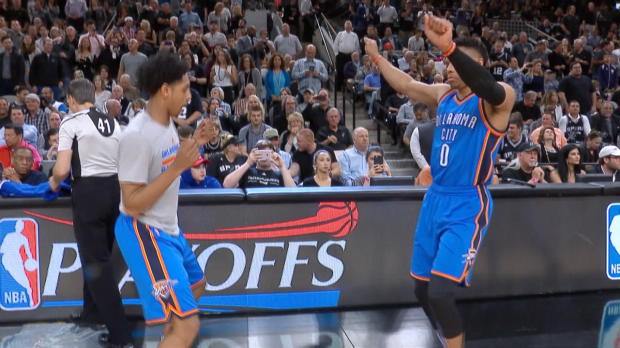 Thunder vs. Spurs: Game 2