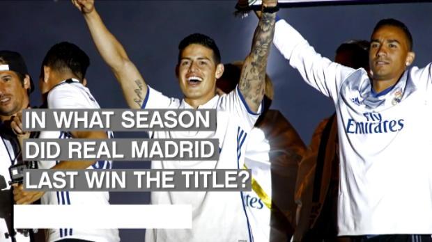 كرة قدم: الدوري الإسباني: أضواء على موسم ريال مدريد الإستثنائي