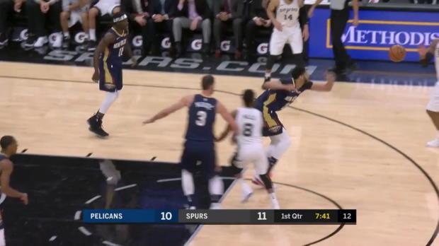 WSC: LaMarcus Aldridge 25 points vs the Pelicans