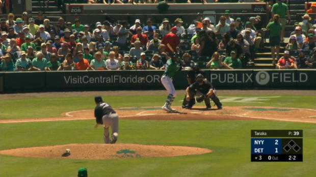 Wade robs Goodrum of a hit