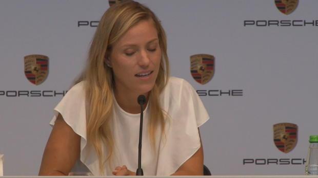 """Wimbledon: Kerber: """"Ehre, nach Steffi zu kommen"""""""