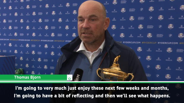 GOLF: Ryder Cup: Bjorn undecided on future after Ryder Cup victory