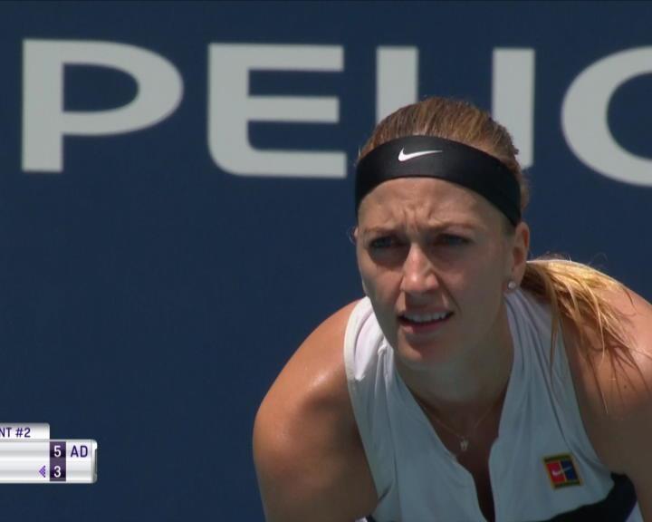 Tennis : Miami - Garcia impuissante face à Kvitova