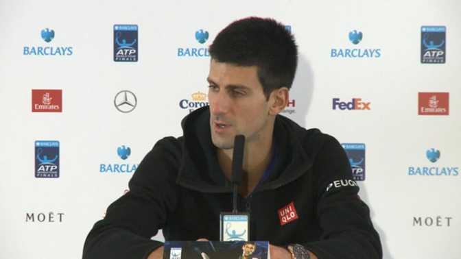 """Masters - Djokovic : """"Federer n'est pas dans le calcul"""""""