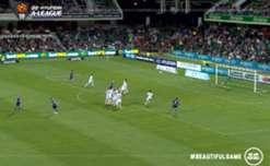 Perth Glory defender Scott Jamieson netted a stunning long-range free kick to help topple Western Sydney Wanderers.