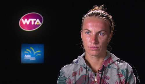 Kuznetsova Interview: WTA Sydney QF