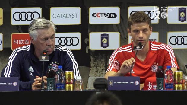 Müller zu James: Einfach nur eine Option mehr