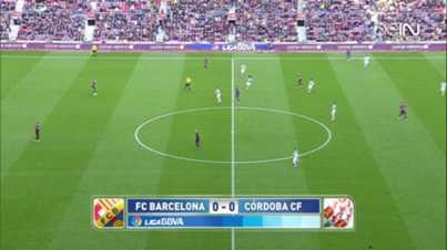 Liga : FC Barcelone 5-0 Cordoba