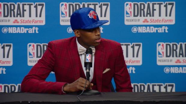 "Basket : Knicks - Ntilikina -  ""C'est génial, une bénédiction !"""