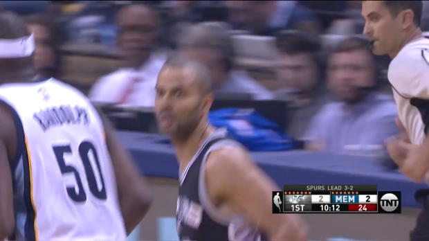 WSC: Head-to-head:More than 27 points of Tony Parker, Kawhi Leonard in San Antonio Spurs vs. the Grizzlies, 4/27/2017