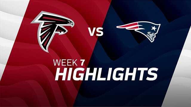 Falcons vs. Patriots highlights | Week 7