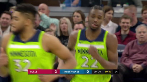 WSC: Andrew Wiggins (23 points) Highlights vs. Chicago Bulls