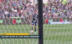 Melbourne Victory's Marco Rojas will miss this weekend's clash against the Wanderers due to a hamstring injury.
