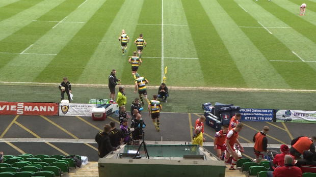 Aviva Premiership - A League Final Match Highlights - Northampton Wanderers v Gloucester United