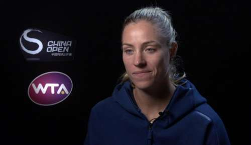 Kerber Interview: WTA Beijing 1R