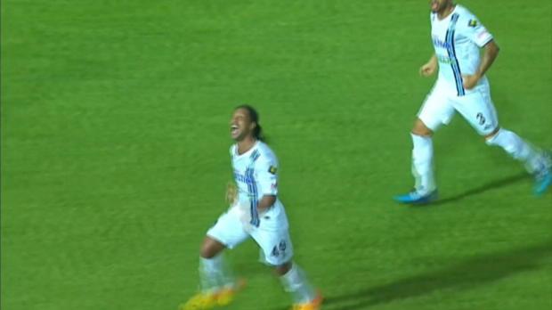 Liga MX: Flutschfinger! Ronaldinho darf lachen
