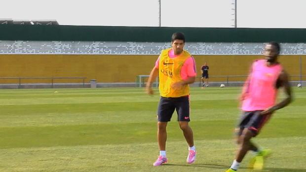 "Foot : Liga - Real Madrid, Clasico, Ancelotti : ""Pas préoccupé par Suarez"""
