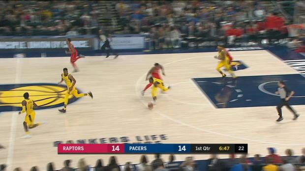 GAME RECAP: Pacers 107, Raptors 104