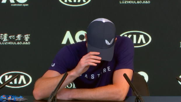 AO: Unter Tränen: Murray macht bald Schluss