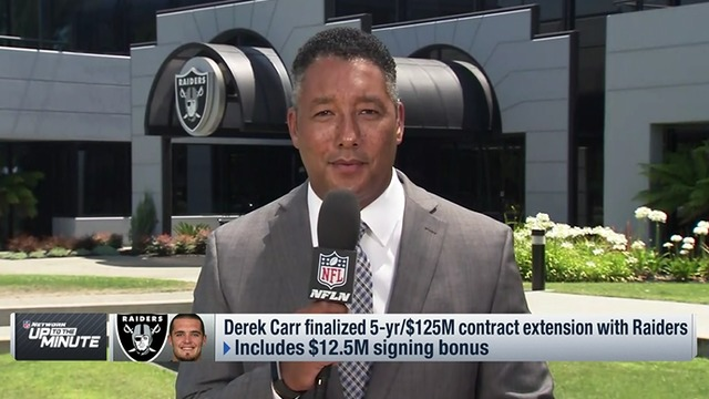 Derek Carr becomes NFL's highest paid player