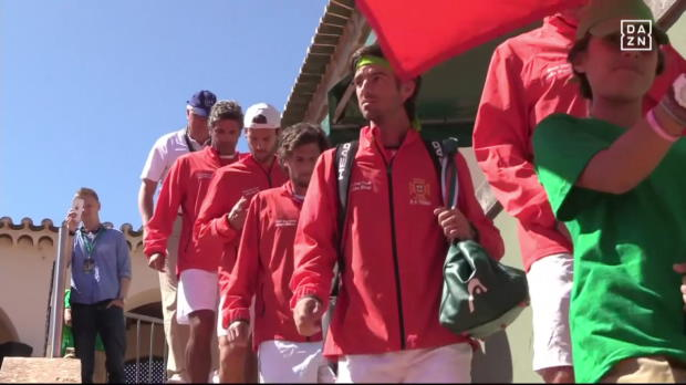Portugal - Deutschland: Tag 2 Davis Cup