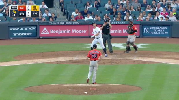 Yankees schlagen drei Homeruns gegen O's