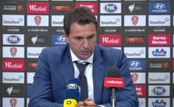 Mariners boss Paul Okon felt his side got overrun by Brisbane Roar in their 5-1 defeat on Sunday night.