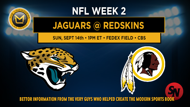 Jacksonville Jaguars @ Washington Redskins