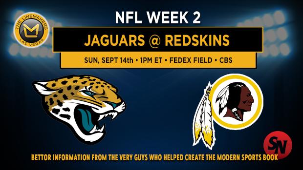 Jacksonville Jaguars @ Washington Redskins