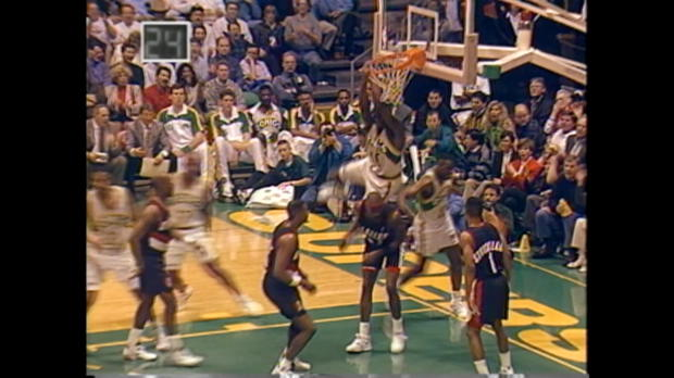 Shawn Kemp Top 10 Dunks