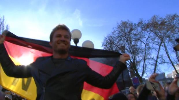 F1: Weltmeisterlicher Empfang für Nico Rosberg