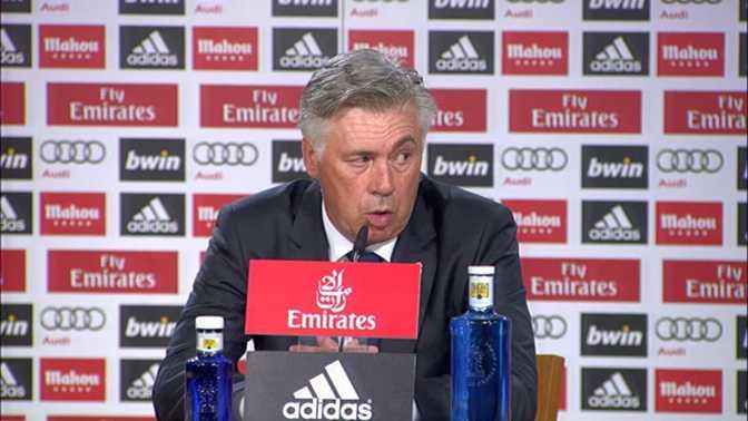 """Liga: 3e j. - Ancelotti : """"Je suis préoccupé"""""""