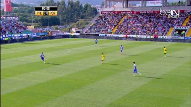 Liga Sagres : Paços Ferreira 0-1 Porto